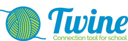 Twine Logo with link to the twine website